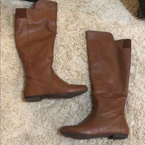 Fergalicious Over The Knee Tan Boots